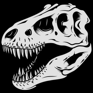 Dinosaurier Schädel