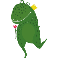 Blumen-Dinosaurier
