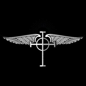 Winged presbyterianisches Kreuz