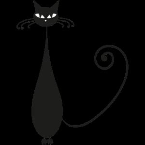 Dünne Katze