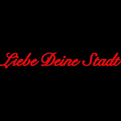 Liebe Deine Stadt red - Der beliebte Schriftzug aus Köln auf Deinem Shirt - colognia,cologne,Köln,Kölle,Koeln,Koelle,Colonia