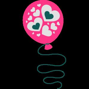 Herz Ballon