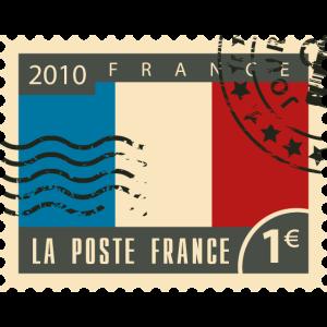 Frankreich poststempel