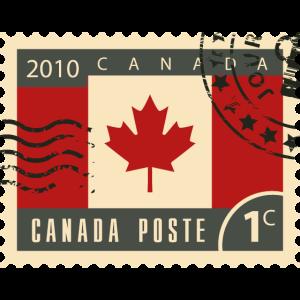 Kanada poststempel