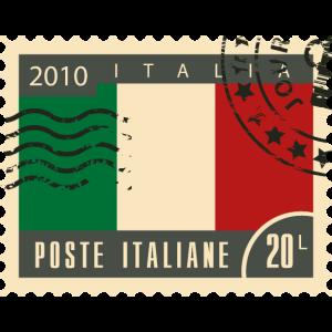 Italien Poststempel