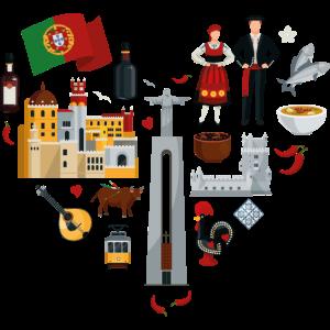 Portugal Herz