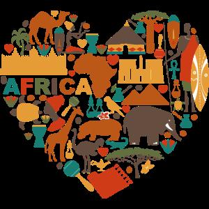 Afrika Herz