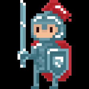 Pixel Ritter