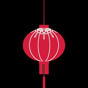 Japanische Kultur Lampion