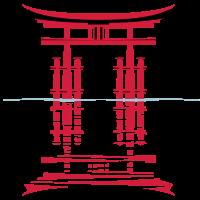 Japanischer Schrein