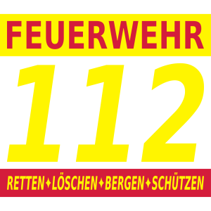 Feuerwehr 112 löschen bergen retten schützen