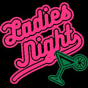Neonshirt Ladies Night JGA Shirt Team Braut