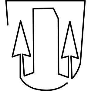 Weldener Wappen Stilisier