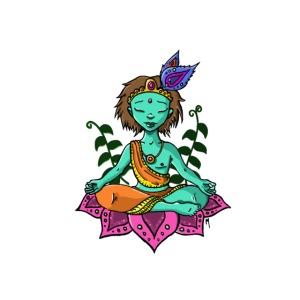 ptit bouddha avec plantes