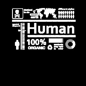 human Infografik Mensch Inhalt Alien Humor Nerd lo