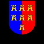 """Wappen der Siebenbürger Sachsen """"Siebenbürgen"""""""