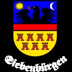 """SIebenbürger-Sachsen Wappen """"Siebenbürgen""""  W"""