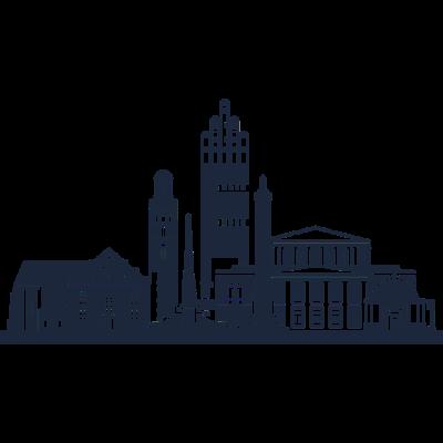 Darmstadt -  - simpel,freedesigns17,Symbole,Silhouette,Länder,Hauptstadt,Deutschland,Darmstadt,Abstrakte Kunst
