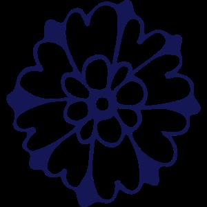 Blütenmandala
