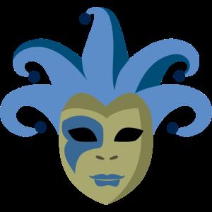 Venedig Karneval Maske