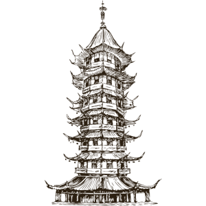 Japan pagode