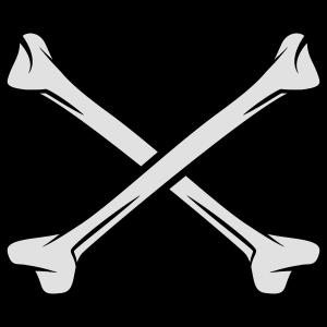 Gekreuzte Knochen