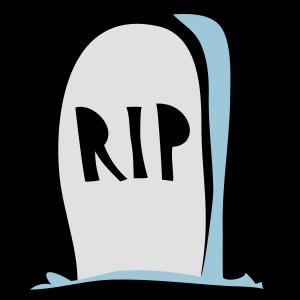 RIP-Grabstein