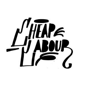 Cheap Labour Basic Logo (Black on White)