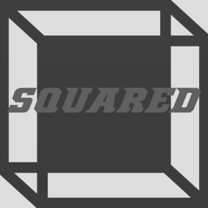 Squared Apparel Black / Gray Logo