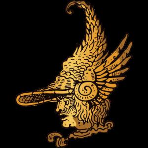 22 goldenen Vektorstock 271505