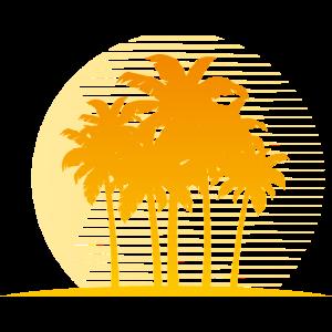 Palmtree island