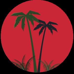 Palmtree emblem