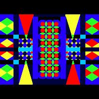 Geometrie/Bunt