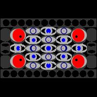 Geometrie/Bunt/Auge