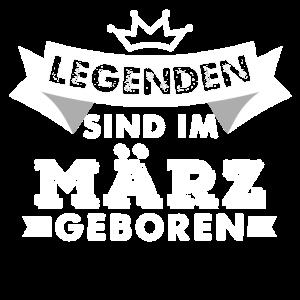 Legenden Geburtstag Maerz