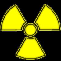 Atomzeichen gelb