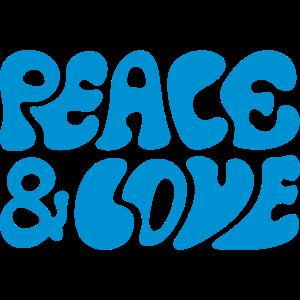 Peace and love Friedensbewegung Frieden Freude
