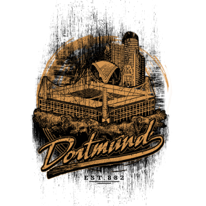 Fußball Fan Shirt Dortmund Ruhrpott