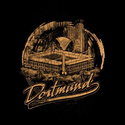 Dortmund at it´s finest - Für alle Dortmund Fans - stadion,soccer ball,ruhrpott,fußballstadion,fußballmannschaft,dortmund,Transparent,Fußballverein,Fußball,Dortmunder,90 min
