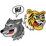 Tiger Wolf Hi!
