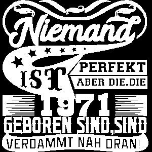 Niemand ist Perfekt 1971