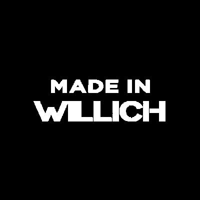 WILLICH - Made in ... - zuhause,zu,stolz,herkommen,haus,daheim,abstammung,Wohnort,Verwandtschaft,Ursprung,Städte,Stadt,Ort,Kleinstadt,Herkunft,Heimatstadt,Heimat,Großstadt,Geburtsstätte,Geburtsstadt,Geburtsort,Geburt,Familie,Elternhaus