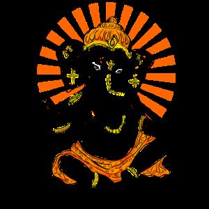 Yoga Ganesha Buddha Indien Hindu Gott Shanti namas