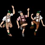 Bavarian Folk Dance Lederhosen