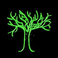 Tree of life, light green