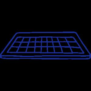 Wissenschaft vectorstock 1446092 C Tastatur 001