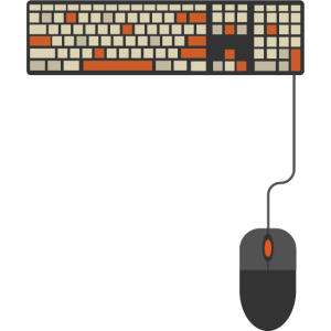 Tastatur maus