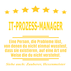 IT-PROZESS-MANAGER