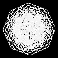 Fibonacci Blume des Lebens