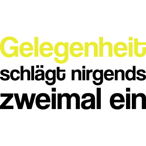 Gelegenheit